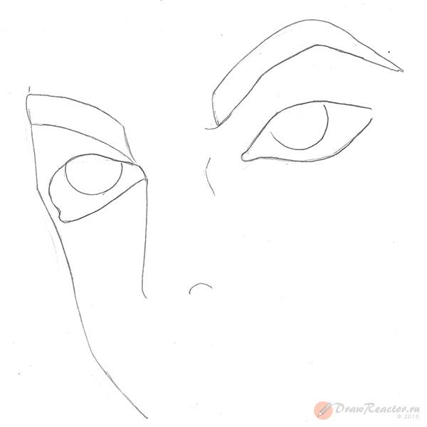 Рисуем глаза. Шаг 2.