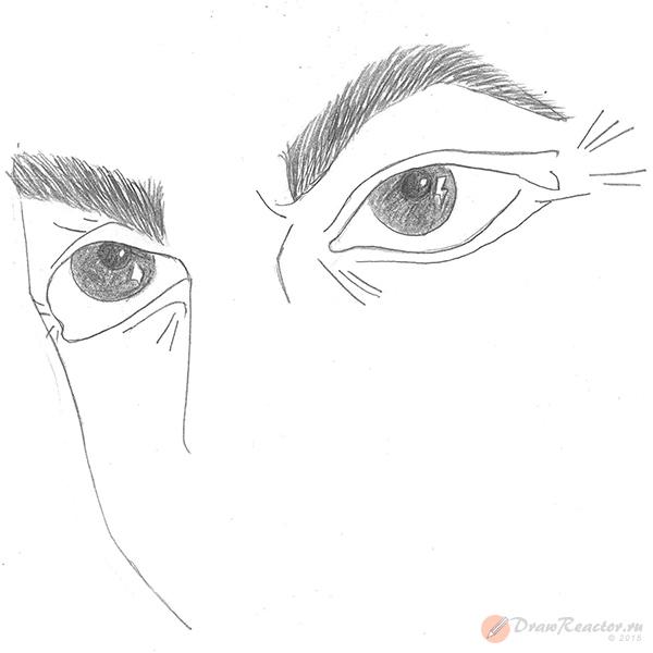 Рисуем глаза. Шаг 3.