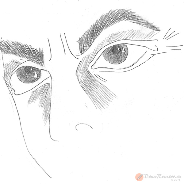 Рисуем глаза. Шаг 4.
