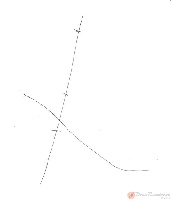 Рисуем хоккеиста. Шаг 1.