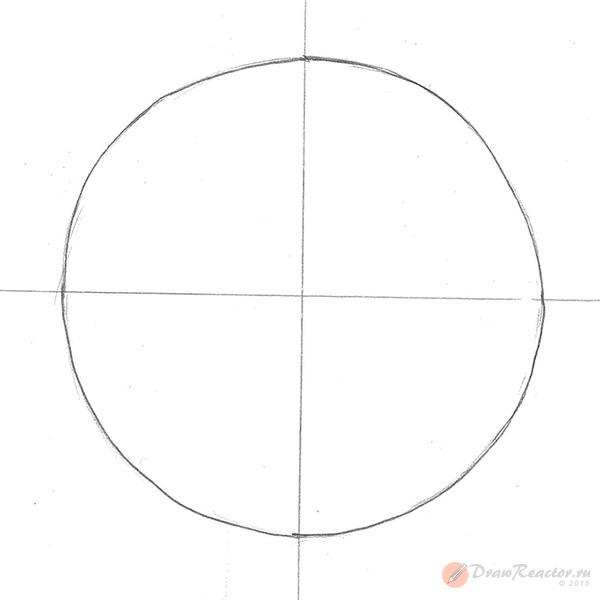 Рисуем звезду. Шаг 1.