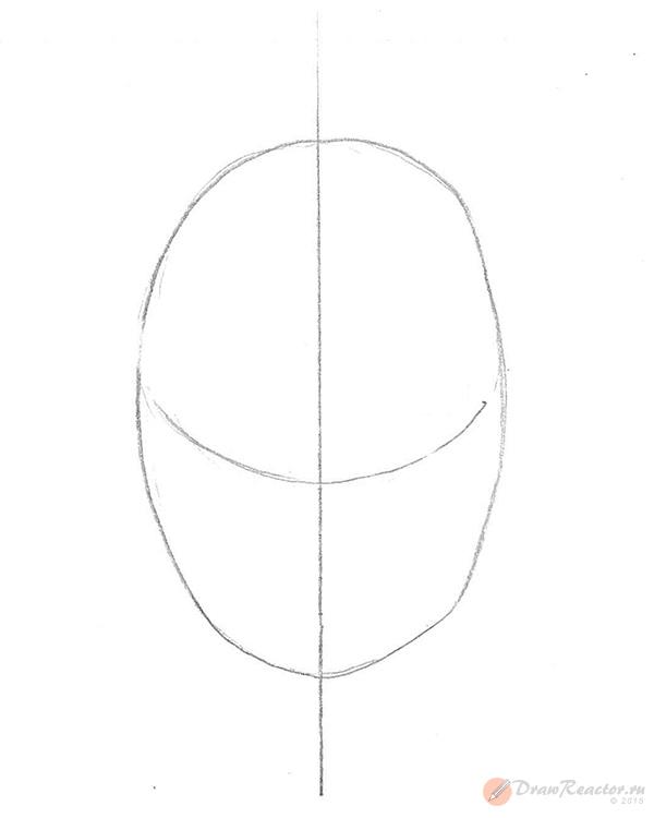 Как рисовать череп.