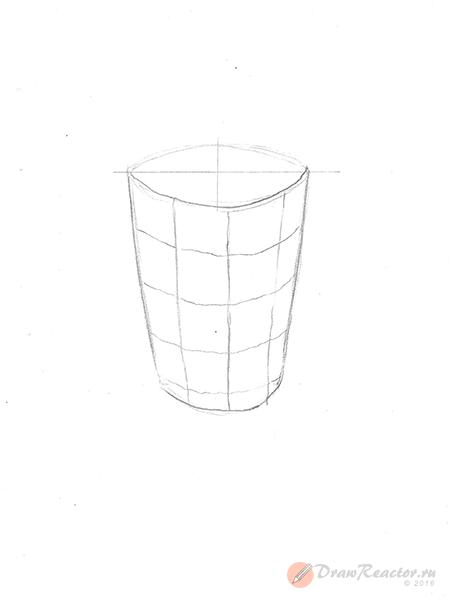 Рисунок мороженого. Шаг 3.
