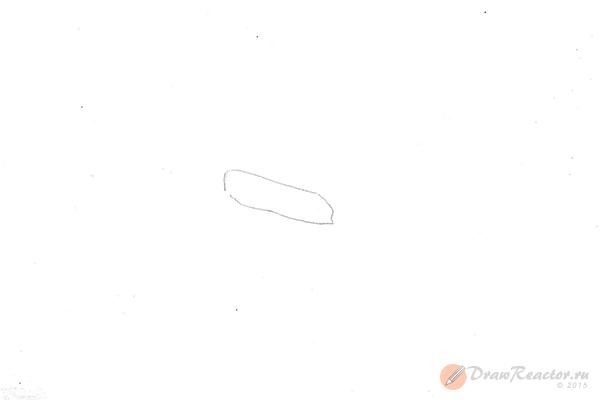 Как нарисовать автомат. Шаг 1.