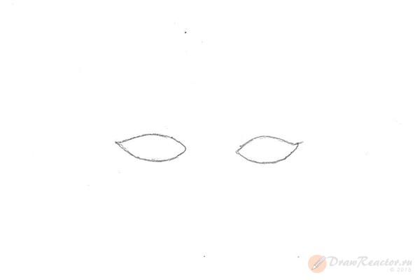 Как рисовать брови. Шаг 1.