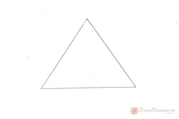 Как нарисовать 3d рисунок. Шаг 1.