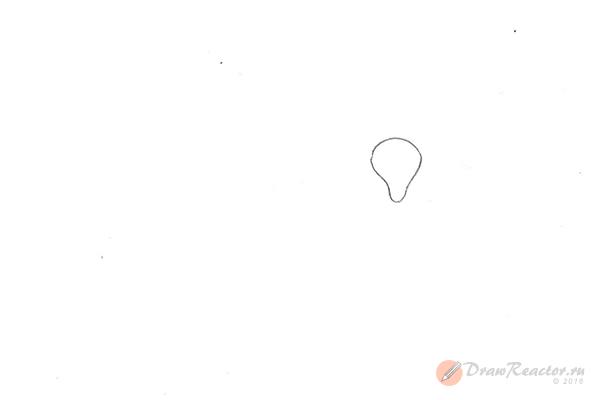 Как нарисовать барана. Шаг 1.