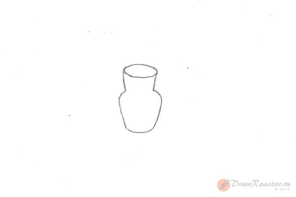 Как рисовать натюрморты карандашом. Шаг 1.